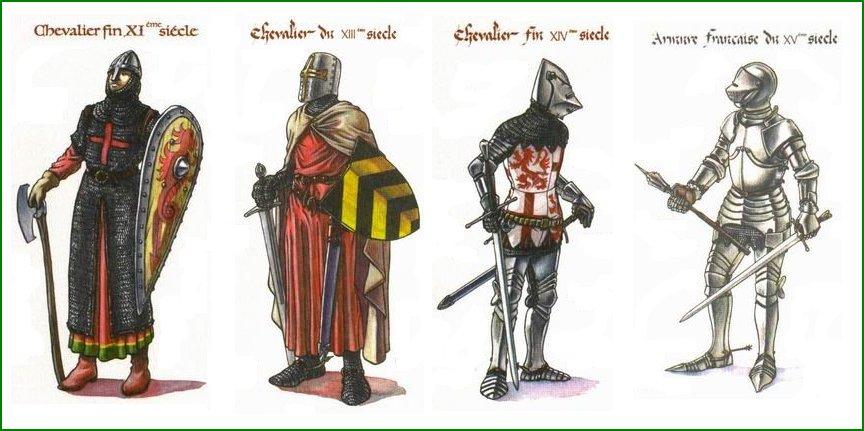 Chevalier moyen age